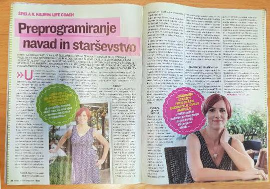Intervju v reviji Suzy
